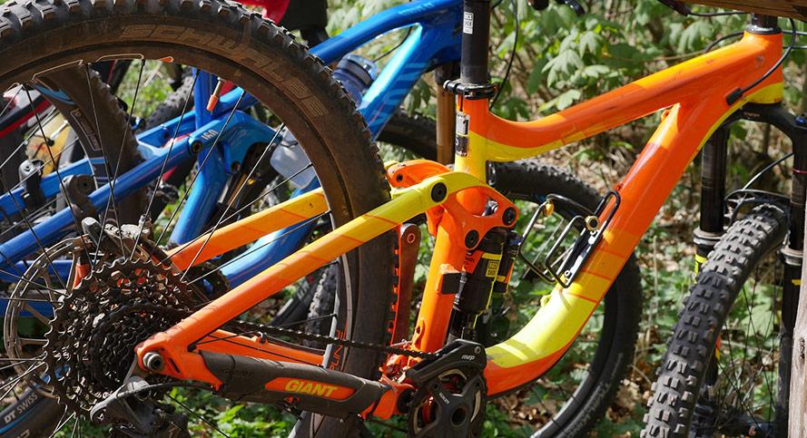 Att bygga sin egen cykel från cykeldelar